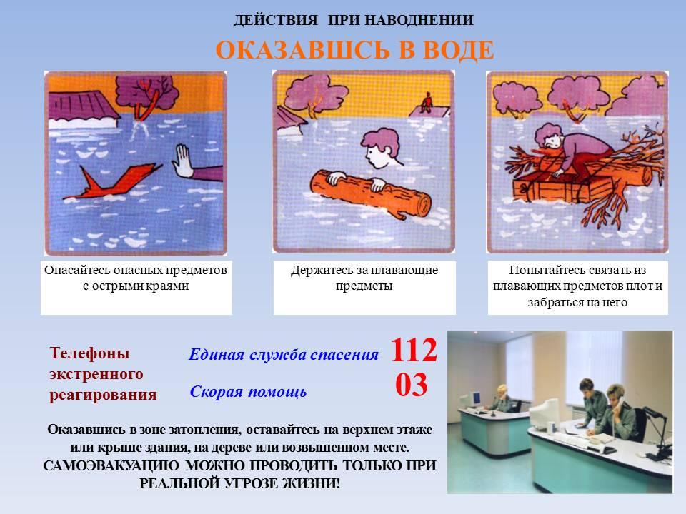 действия при наводнении инструкция - фото 7